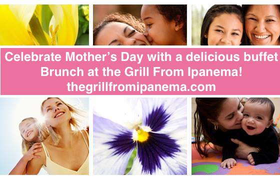 Don't Let Moms Cook this Mother's Day! Treat Them to a Special Mother's Day Buffet Brunch!