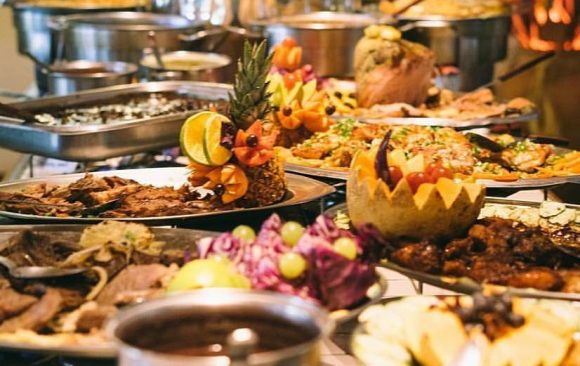 Celebrate Easter With a Delicious Brazilian Buffet Plus a Glass of Mimosa or Soft Drink