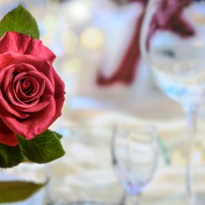 Valentine's Day Special-Three Course Dinner with one Cocktail, Glass of wine or Beer $43 per Person.