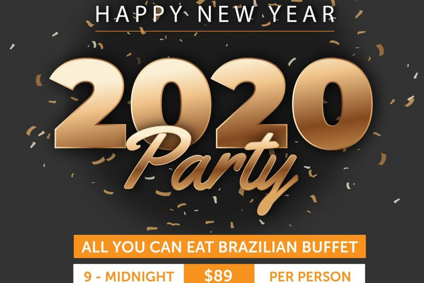Celebrate New Years Eve at TGFI-DC. Fantastic All-You-Can-Eat Buffet Package