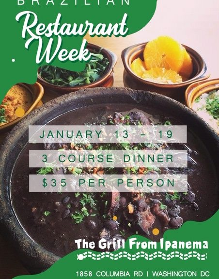 Join us For Winter Restaurant Week 2020 Jan 13-19th